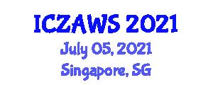 International Conference on Zoo Animal Welfare Science (ICZAWS) July 05, 2021 - Singapore, Singapore