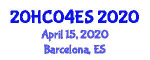 International Healthcare Conference (20HC04ES) April 15, 2020 - Barcelona, Spain