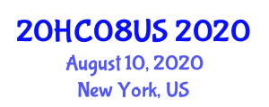 International Healthcare Conference (20HC08US) August 10, 2020 - New York, United States