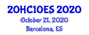 International Healthcare Conference (20HC10ES) October 21, 2020 - Barcelona, Spain