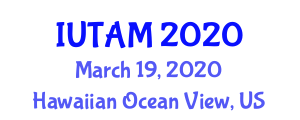 Symposium on Optimal Guidance and Control for Autonomous Systems (IUTAM) March 19, 2020 - Hawaiian Ocean View, United States