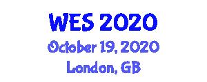 World Entrepreneur Summits (WES) October 19, 2020 - London, United Kingdom
